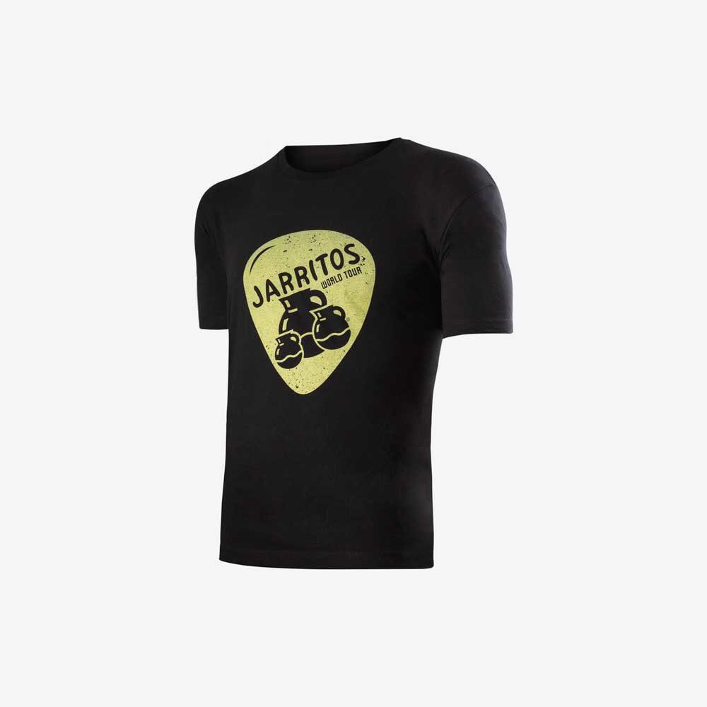 camiseta negra logo jarritostour