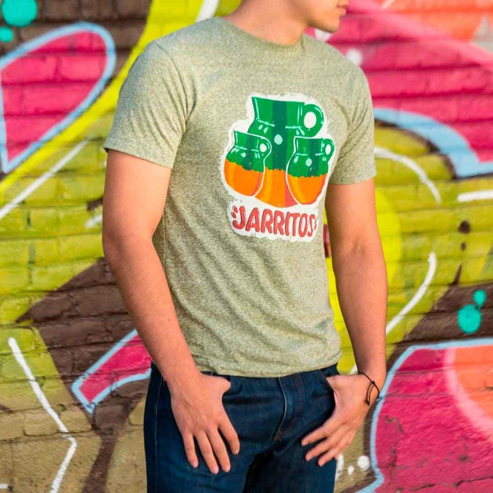 camiseta estilo vintage logo Jarritos