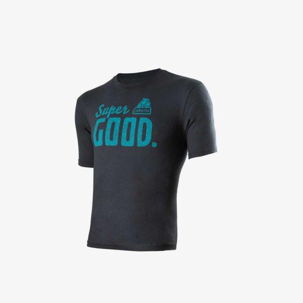 camiseta gris super good