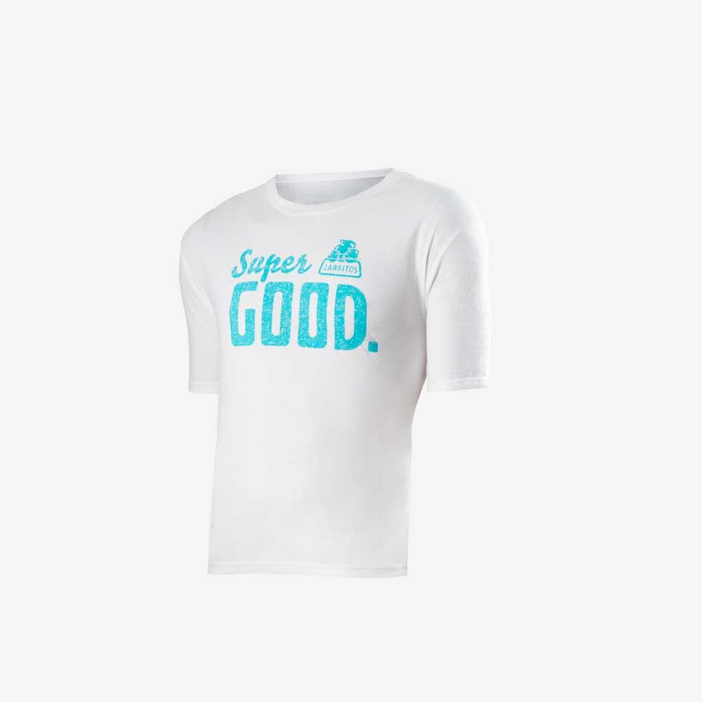 camiseta blanca super Good