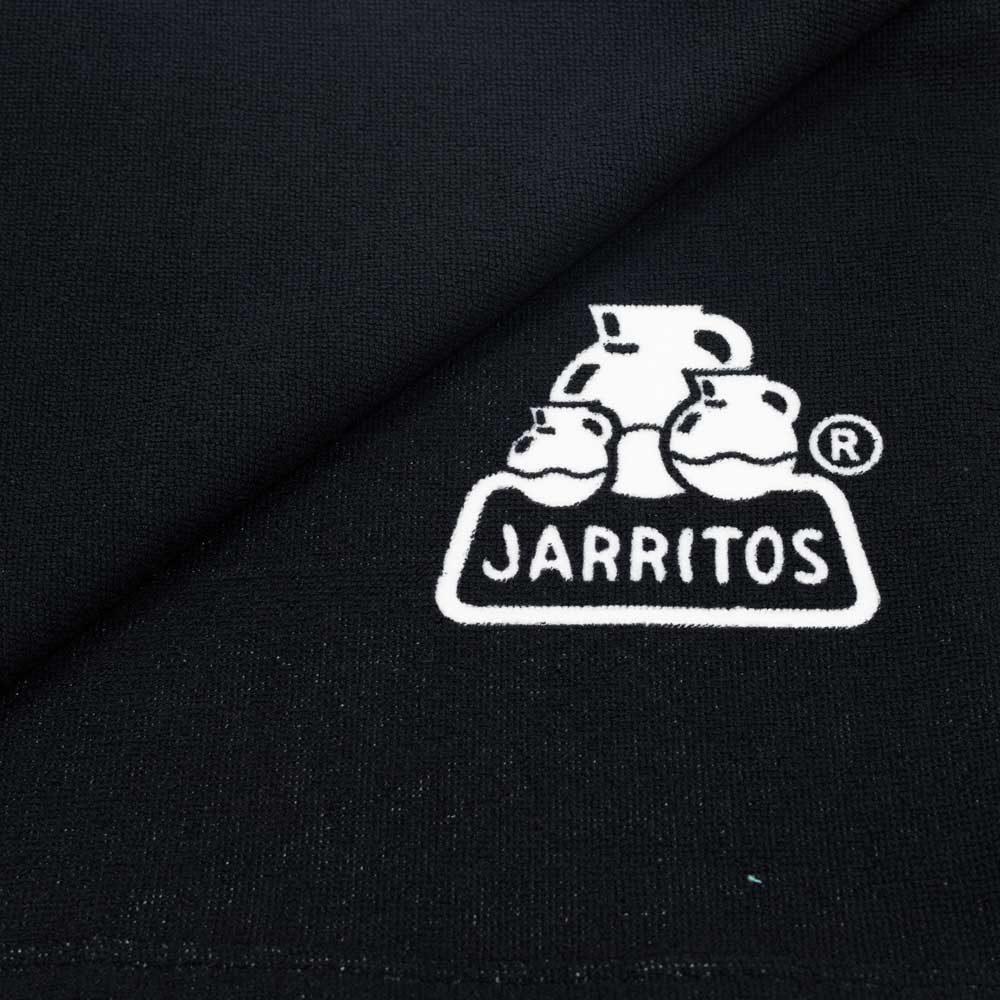 Toalla de calabera mexicana y logo de jarritos