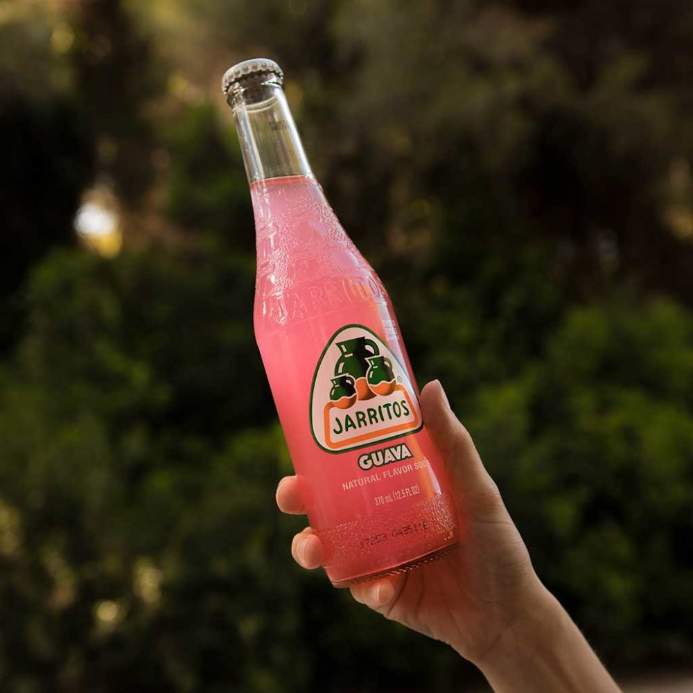 jarritos sabor guayaba refresco con Gas